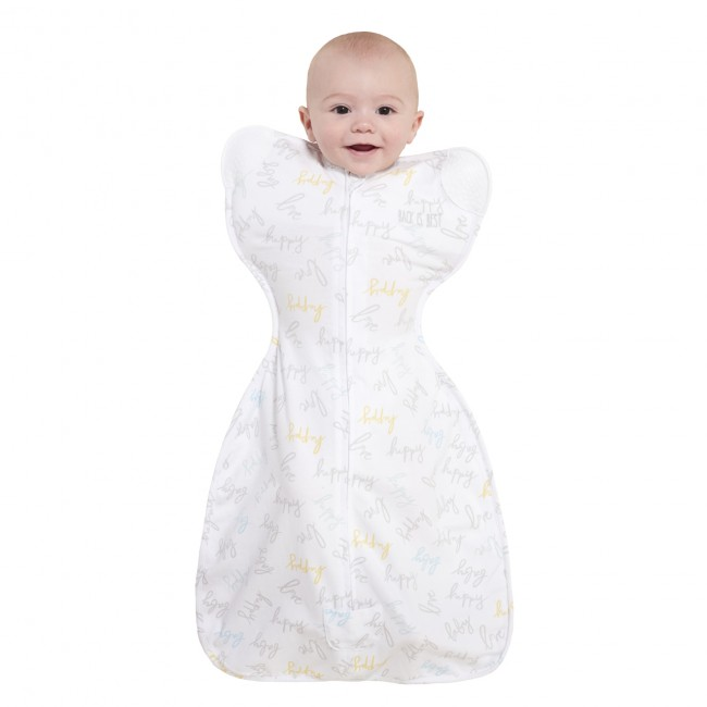 buy online 4422b 6e234 Halo Newborn Happy Baby Love Self-Soothing Swaddle