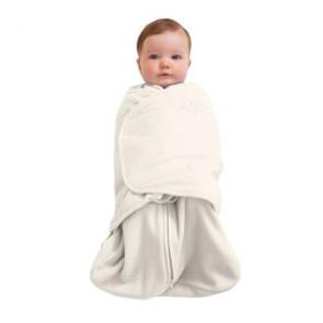 Halo Newborn Fleece Cream Swaddle