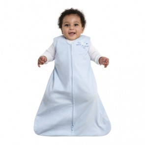 Halo Small Cotton Blue Blanket