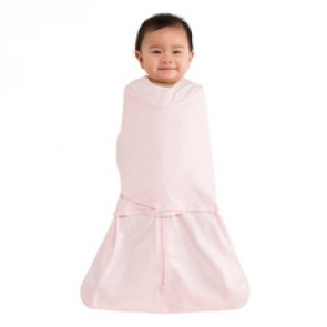 Halo Small Cotton Pink Swaddle