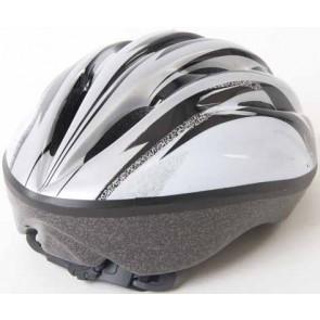 XL Silver Helmet